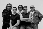 Le groupe de rock Purple Legend